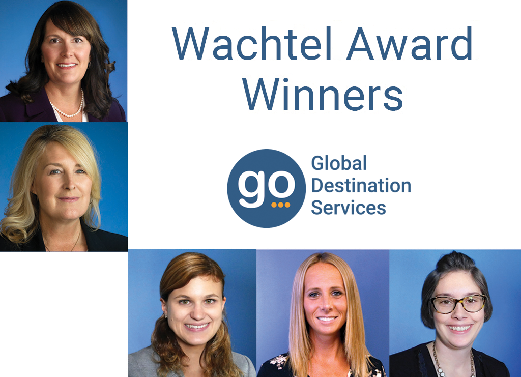 Employees at GO Destination Services are known for their attention to detail, incredible customer service, and professionalism. Each year select employees receive the Wachtel Award for showing exemplary vision, leadership, and courage.